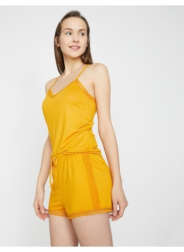 Koton Pijama Altı Sarı